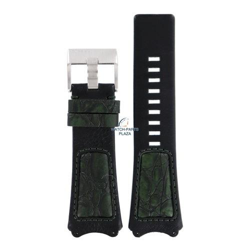 Diesel Bracelet montre Diesel DZ-1073 en cuir noir 31 mm