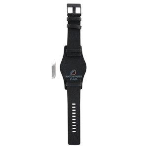 Diesel Diesel DZ-1310 watch band black leather 26 mm
