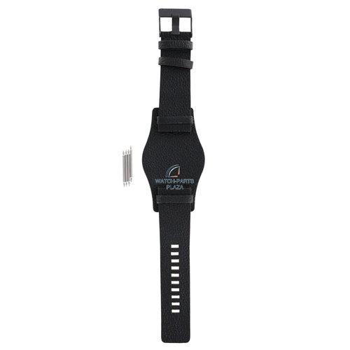 Diesel Diesel DZ-1310 horlogeband zwart leer 26 mm