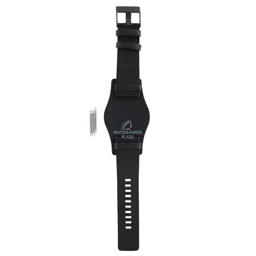 Diesel Diesel DZ-1310 correa de reloj negro cuero 26 mm