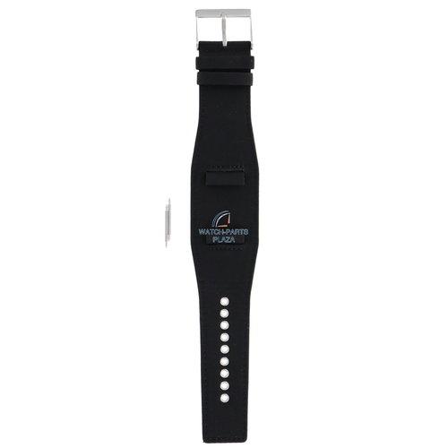 Diesel Diesel DZ-2048 horlogeband zwart leer 22 mm