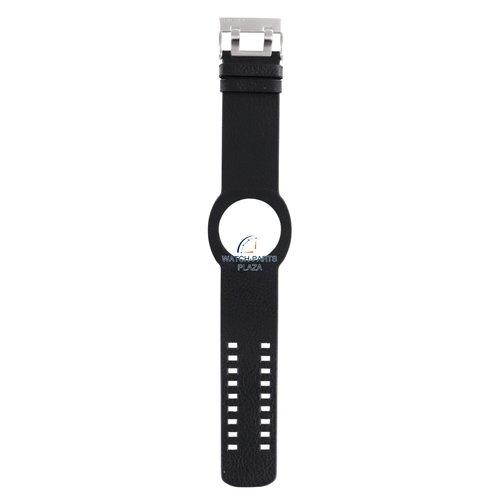 Diesel Diesel DZ-3002 horlogeband zwart leer 30 mm