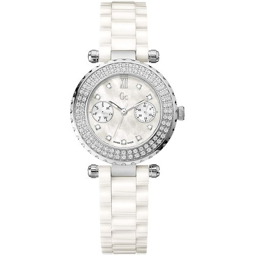 Guess Collection Guess Collection A28101L1 wit keramisch horloge