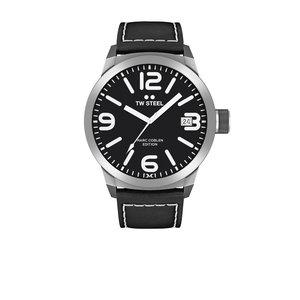 TW-Steel Reloj TW Steel TWMC54 con correa de piel negra.