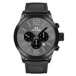 TW-Steel Horloge TW-Steel Marc Coblen Edition TWMC18 chronograaf zwart & leren band 42mm