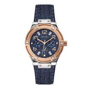 Guess El reloj Guess Jet Setter W0289L1 se elevó 39 mm con correa azul