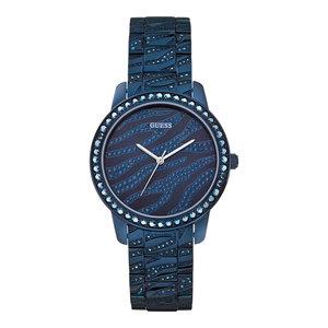 Guess Guess Indulge W0502L4 horloge blauw 36 mm dames