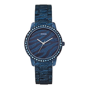 Guess Guess Indulge W0502L4 Uhr blau 36 mm Damen