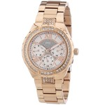 Guess Watch Guess W0111L3 Viva analog ladies watch rose colored 36mm steel