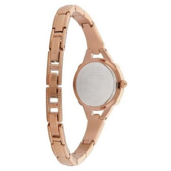 Guess Watch Guess W0135L3 Angelic ladies watch rose colored 22mm steel Zirconia crystals