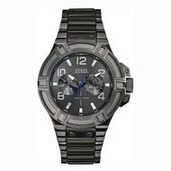 Guess Guess Rigor W0218G1 horloge donkergrijs 45 mm heren
