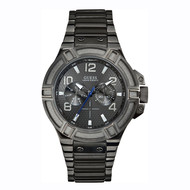 Guess Guess Rigor W0218G1 men's watch dark gray 45 mm