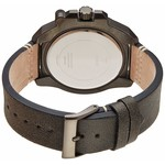 Guess Watch Guess W0659G3 Viper analog men's watch dark gray 46mm leather strap
