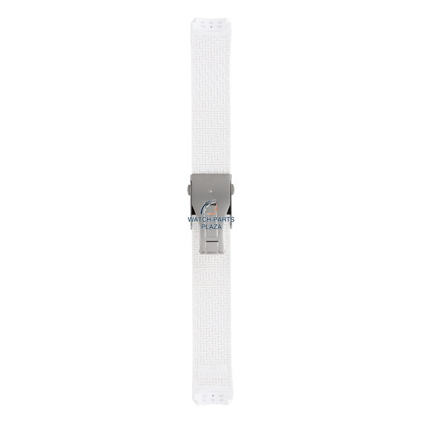 Tissot Watch band Tissot T013420 / T047420 T-Touch Expert white silicon strap 21mm T603027565