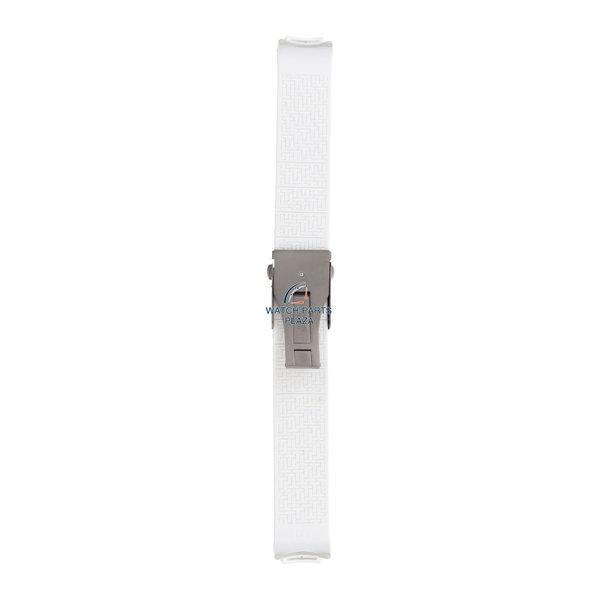 Tissot Watch band Tissot T3376 / T3378 T-Touch white silicon strap 20mm Z253 Danica Patrick
