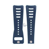 Diesel DZ-3039 horlogeband blauw rubber 30 mm
