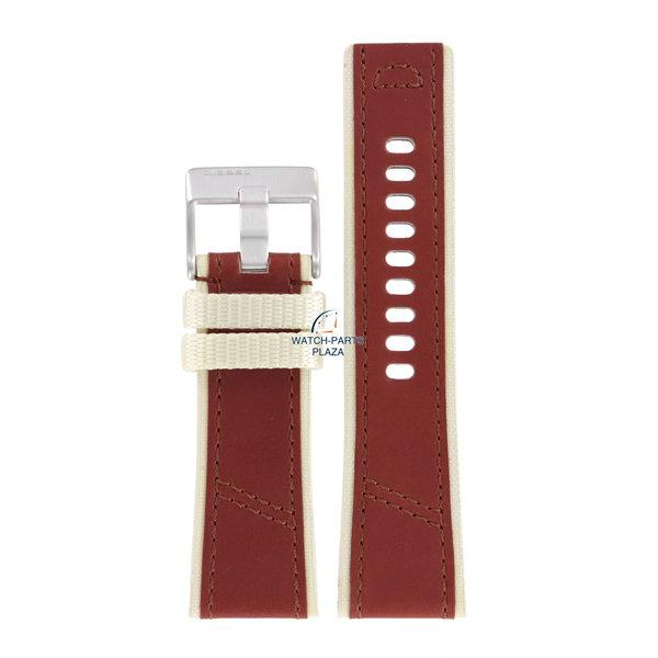 Diesel Watch Band Diesel DZ2060 brown leather strap 27mm original DZ2062