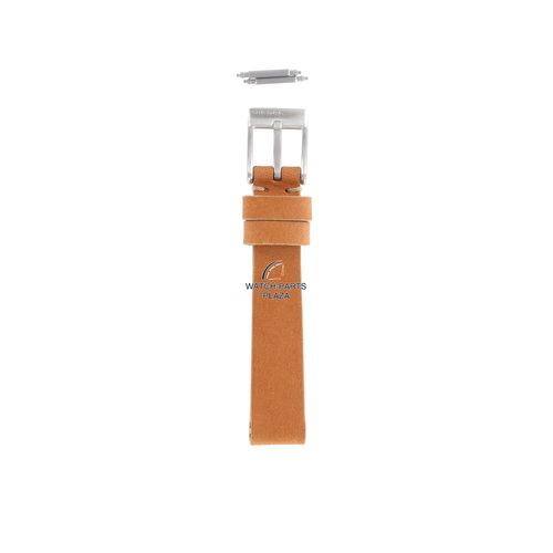 Diesel Diesel DZ-2075 halve horlogeband 14 mm oranje