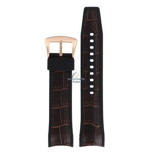 Seiko Cinturino per orologio Seiko R037012P0 4R71 0AA0 / 7D56 0AE0 fibbia in oro 22mm