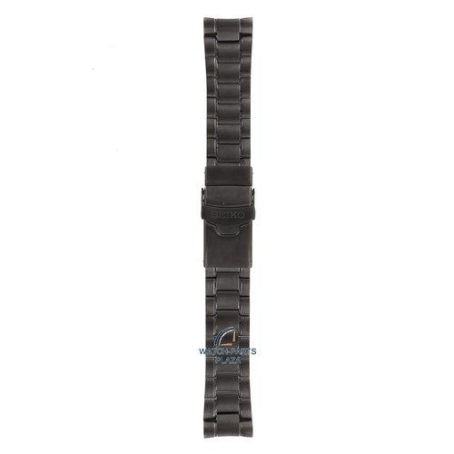 Seiko Seiko M0EV631N0 bracelet de montre 4R36 05H0 - SRPD11 noir M0EV