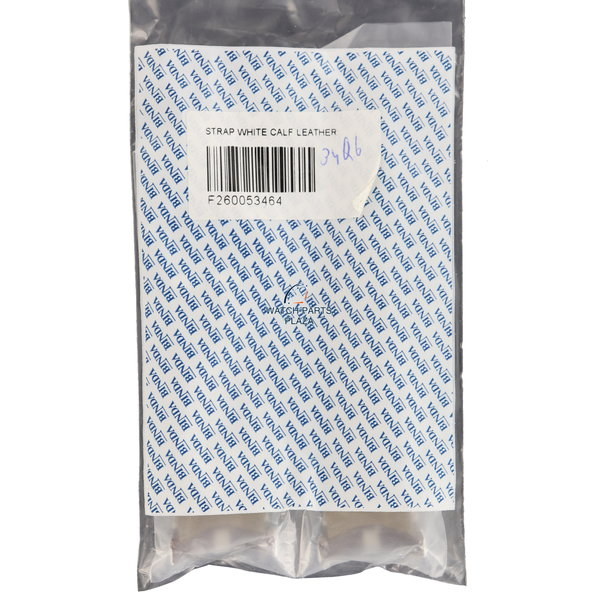 Breil Breil Milano BW0428 / BW0429 white genuine leather strap F260053464 watch band 29 mm