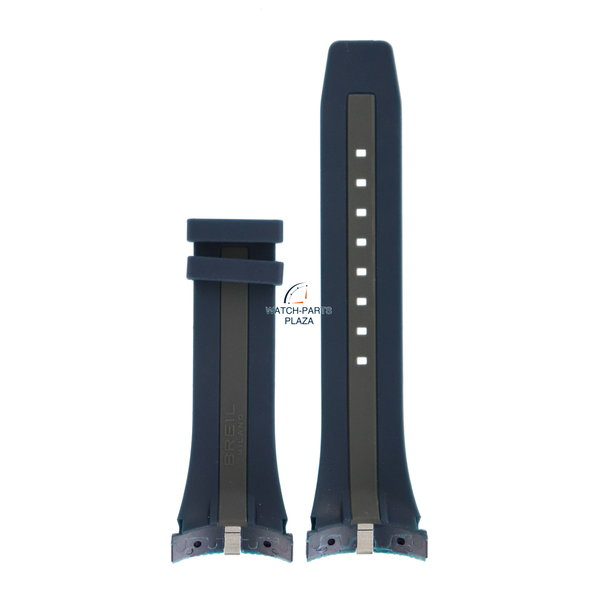 Breil Breil Milano BW0427 blue silicon strap F260053451 watch band 31 mm