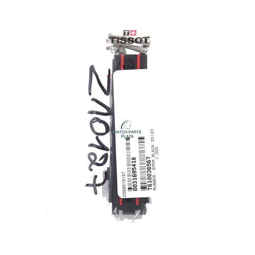 Tissot Tissot T-Race MotoGP T092417 / T092427 schwarz & rotes Uhrenarmband 20mm T092.417.27.201 echtes Armband