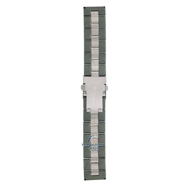 Diesel Diesel DZ1064 groene roestvrijstalen horlogeband 24mm DZ-1064 band