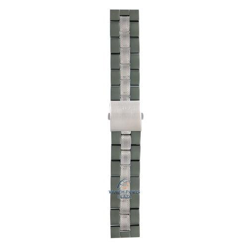 Diesel Bracelet de montre en acier inoxydable DZ1064 diesel vert 24mm Bracelet DZ-1064