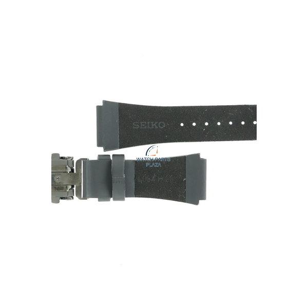 Seiko Seiko Spirit Smart SBPA009 watch strap S771-0AB0 black leather strap L084 H 20 mm GOLGO 13