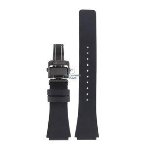 Seiko Seiko L084011M0 correa de reloj cuero negro S771-0AB0 20mm