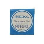 Seiko Seiko World Time 6117-6010 zwarte wijzerplaat  origineel 86039942