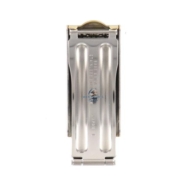 Seiko Seiko SQ 8123 6330 gold clasp stainless steel 16mm 8123-6330 - SMW392J1 original