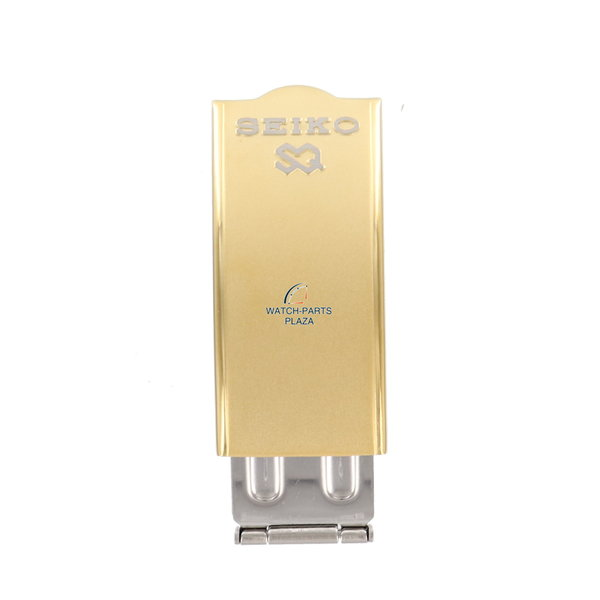Seiko Seiko SQ 8123 6330 goudkleurige sluiting - roestvrij staal 16mm 8123-6330 - origineel SMW392J1