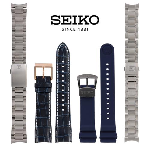 Bandes de montre pour Seiko