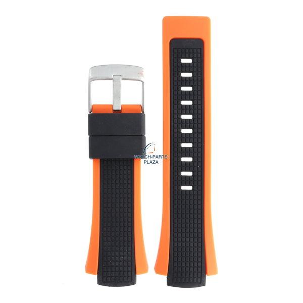 Festina Festina BC05138 Horlogeband F6727, F6738, F6739 rubber / siliconen oranje 17 mm -