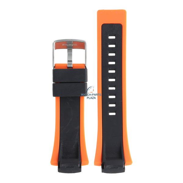 Festina Festina BC05138 Watch band F6727, F6738, F6739 rubber / silicone orange 17 mm -