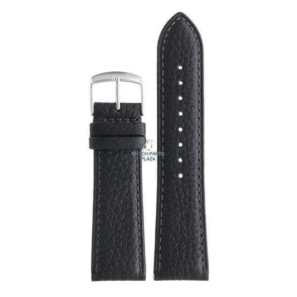 Festina Festina BC08621 Watch band F16777, F16779 leather black 24 mm - Classic