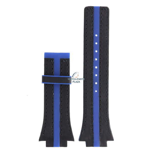 Festina Festina BC04533 Watch band F16184 rubber & leather blue 18 mm - Nine Collection