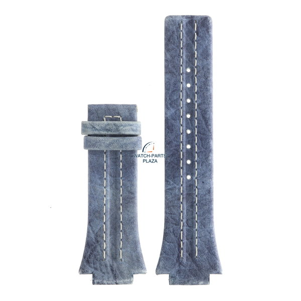 Festina Festina BC04536 Watch band F16184/B blue leather 18 mm - Nine Collection