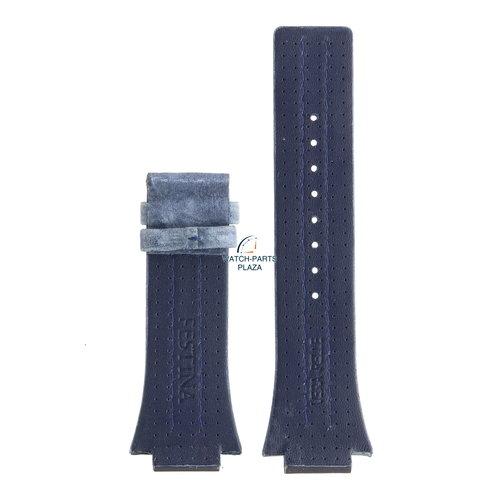 Festina Festina BC04536 Watch band F16184/B blue leather 18 mm - Nine Collection