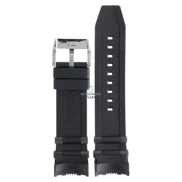 Festina Festina BC07560 Horlogeband F16543, F16562 zwart rubber / siliconen 26 mm - Chrono Bike & Tour De France