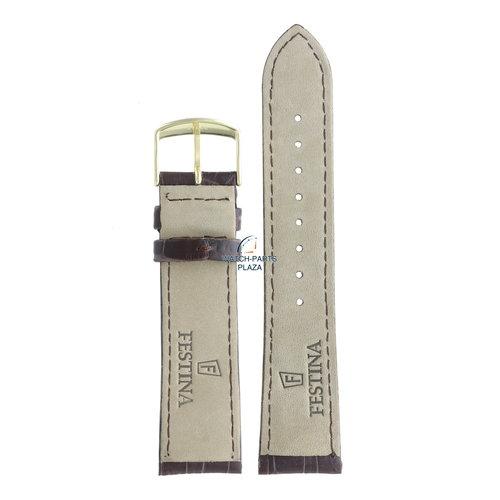 Festina Festina BC08662 Horlogeband F16753/2 bruin leer 22 mm - Boyfriend