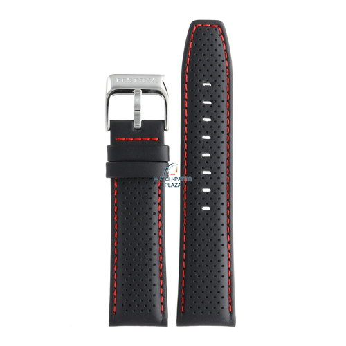Festina Festina BC07957 Watch band F16585/7, F16585/8 black leather 23 mm - Sport