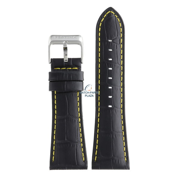 Festina Festina BC05461 Watch band F16235/7 black leather 28 mm - Multifunction