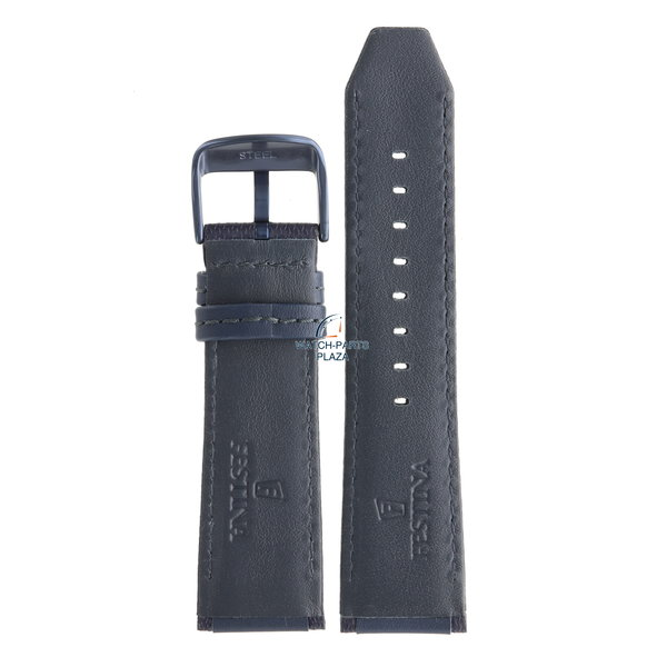 Festina Festina BC09318 Horlogeband F16898 donkerblauw leer 25 mm - Sport / Prestige