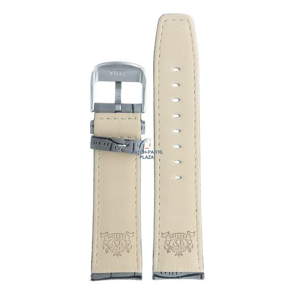 Festina Festina BC07597 Watch band F16573/2 grey leather 23 mm - Retrograde