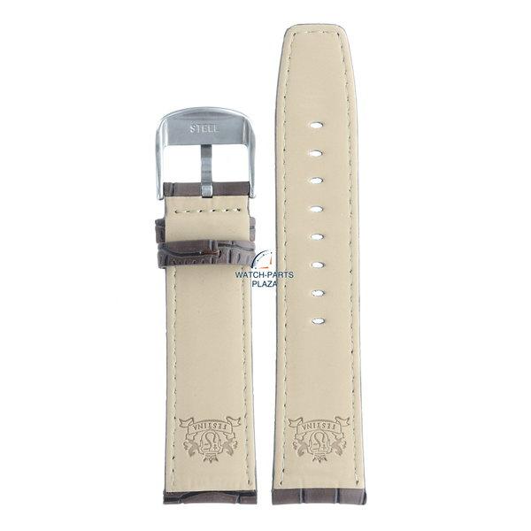 Festina Festina BC07598 Watch band F16573 brown leather 23 mm - Classic / Retrograde