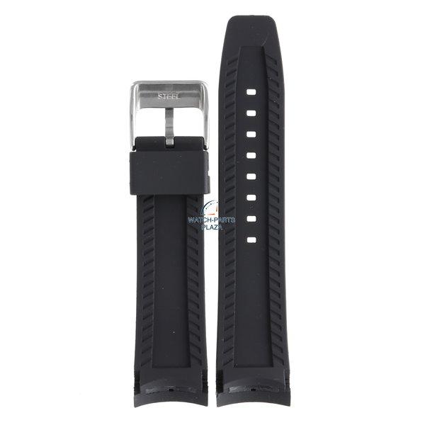 Festina Festina BC07571 Horlogeband F16561 zwart rubber / siliconen 24 mm - Giro d'Italia