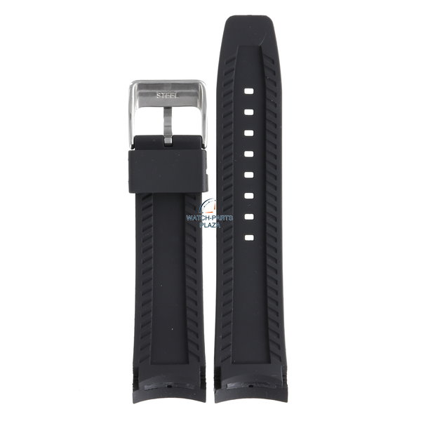 Festina Festina BC07571 Watch band F16561 black rubber / silicone 24 mm - Giro d'Italia